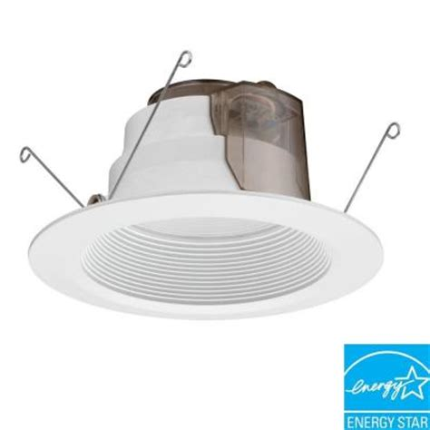 lithonia lighting 6 in white recessed led baffle