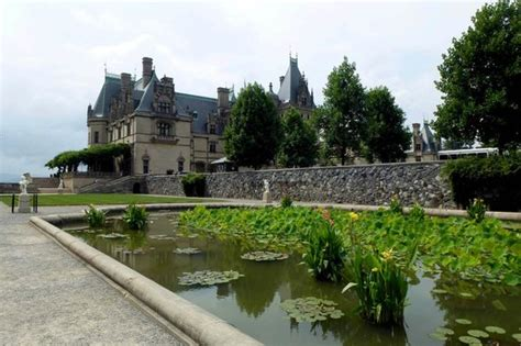 from the formal water gardens picture of biltmore estate
