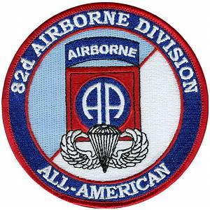 82nd Airborne Division All American Patch | North Bay Listings