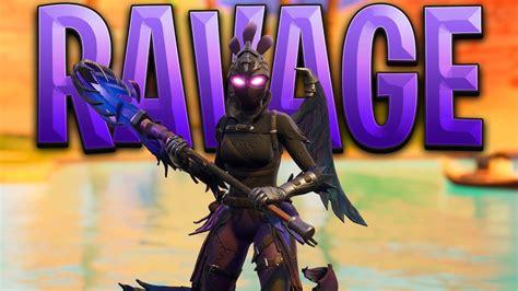 fortnite ravage skin gameplay youtube