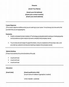 customer service resume template 8 free samples With free resume templates for customer service jobs