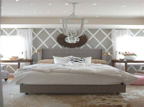 Accent Wall Ideas Bedroom by Wall Patterns For Bedrooms Grey White And Blue Bedroom
