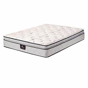 Serta Continuous Support Innerspring Super Pillow Top King