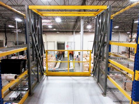 pallet drop zone gate industrial safety gate wildeck