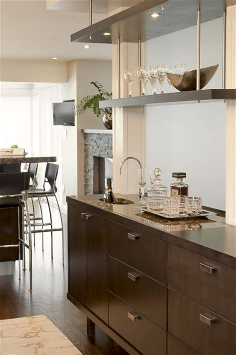 Wet Bar   Contemporary   Dining Room   Toronto   by Leslie