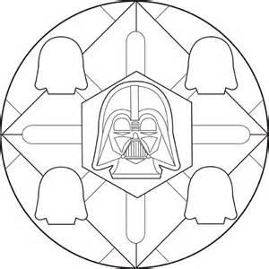 Printable Mandala Coloring Pages Star Wars