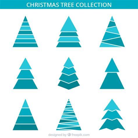 193 rboles de navidad minimalistas en tonos azules