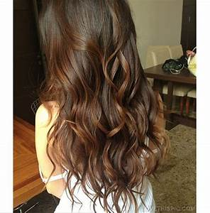 Long brown wavy hair cute hair beautiful girl pretty ...