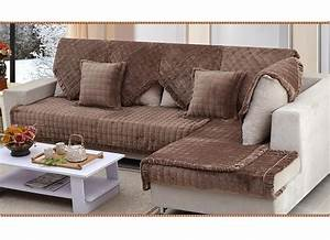 Aliexpresscom buy fabric sectional couch covers luxury for Sectional couch cushion slipcovers