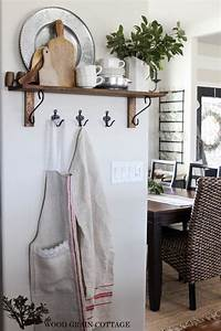 The, White, Kitchen, Wall