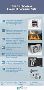 tips to choose a fireproof document safe piktochart With documents 5 safe