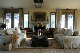 Rustic Country Living Room Ideas