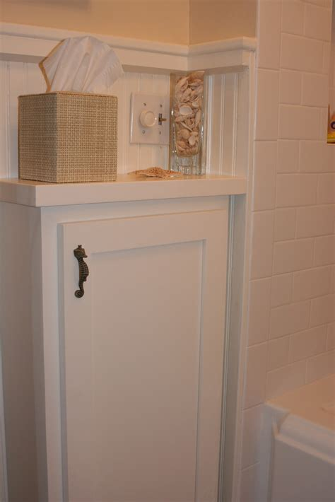 ideas  subway tile beadboard bathroom
