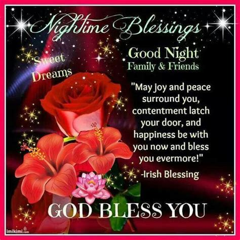 night time blessings pictures   images