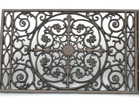 Iron Doormat by Door Mat