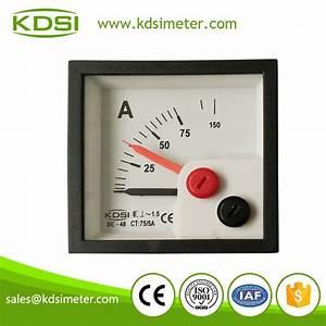 Inductive Ammeter Analog Ac Ampere Meter Analog Ampere