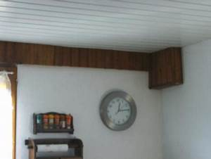 Coffrage Cache Tuyau Plafond