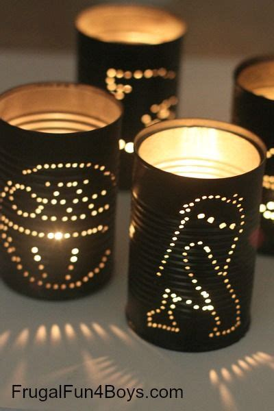 star wars tin  lanterns star wars crafts