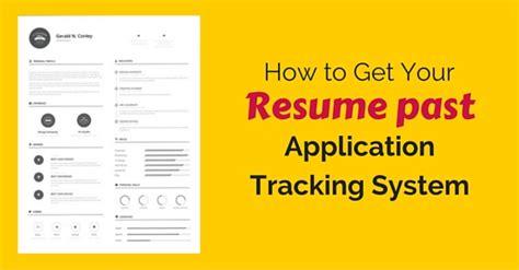 get resume past ats