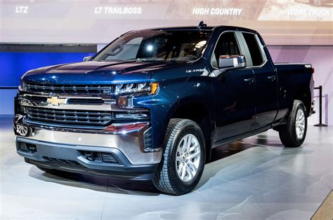 2019 Chevrolet Silverado 1500 First Look