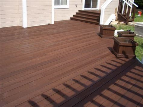Restaining A Deck With Solid Stain by Eastbaypainter