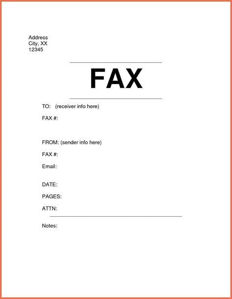 fax cover letter exle bio exle