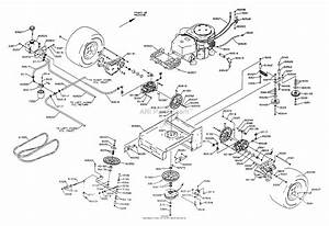 Dixon Ztr 7025  2001  Parts Diagram For Drive Train