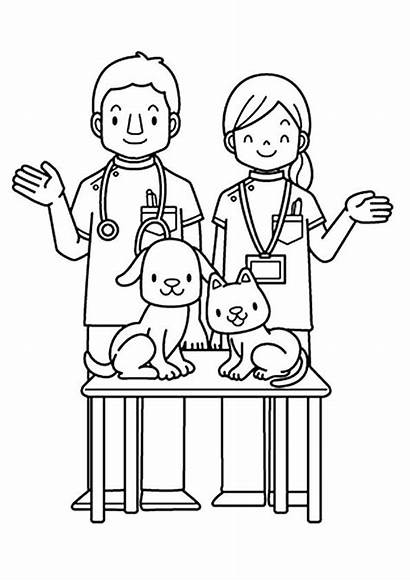 Helpers Coloring Community Printable Preschool Kindergarten Sheets