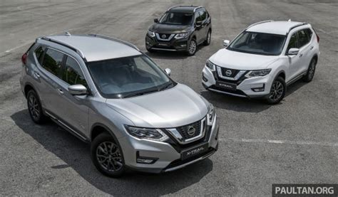nissan  trail facelift  malaysia spec  spec
