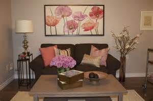 beautiful flower room decor pink living room cocoon shaped
