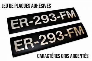 Plaque Immatriculation Anglaise : gamme compl te plaques d 39 immatriculation noires collection ~ Gottalentnigeria.com Avis de Voitures