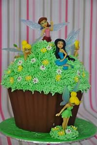 Fairy Giant Cupcake - CakeCentral com