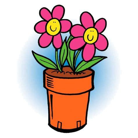 immagini di vasi con fiori disegno di vaso di fiori a colori per bambini