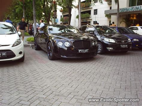 bentley continental spotted  jakarta indonesia