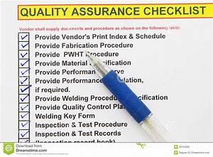 Liste Assurance : liste de contr le de garantie de la qualit photographie ~ Gottalentnigeria.com Avis de Voitures