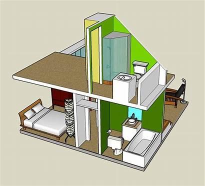 Tiny Sketchup 3d Google Interior Designs Cabin