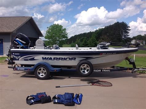 Warrior Boat Covers by Assorted Boats For Sale On Walleyes Inc