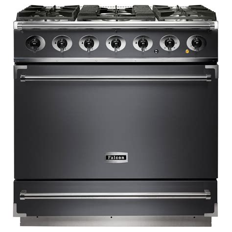falcon range cooker falcon f900sdfsl c 90cm single cavity dual fuel range cooker in slate discount appliance centre