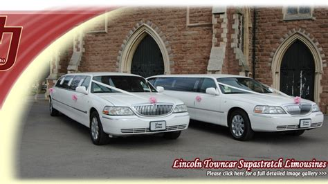 Lincoln Hire Car by Home Wedding Car Hire White Lincoln Towncar