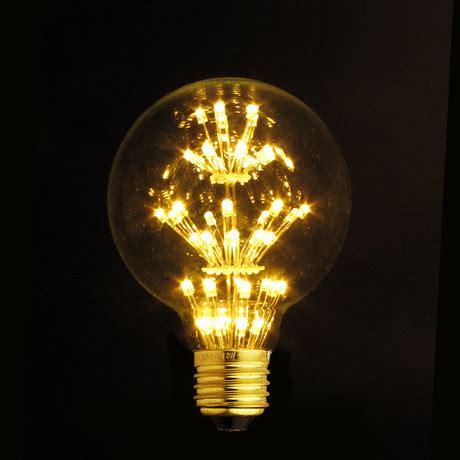 e27 led edison fireworks light bulb type g light with