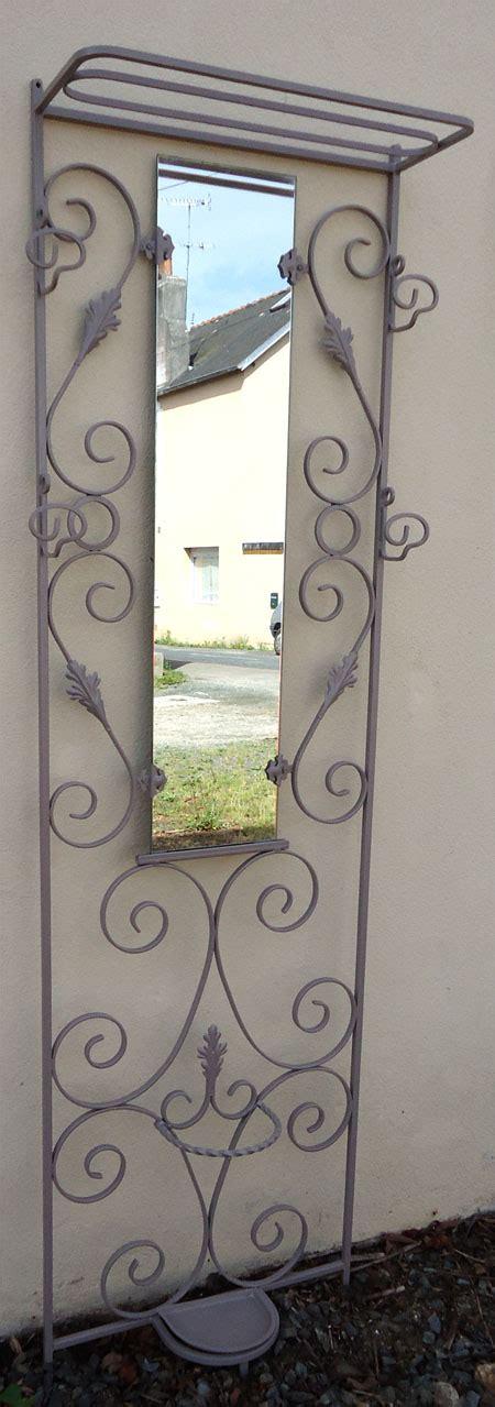 porte manteau fer forge mural porte manteau mural en fer forg 233 peint patere decorative