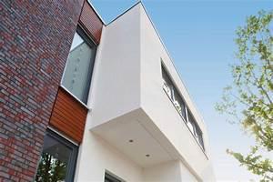 Fassadengestaltung Holz Und Putz : mit der zweischaligen wand von gussek haus den ~ Michelbontemps.com Haus und Dekorationen
