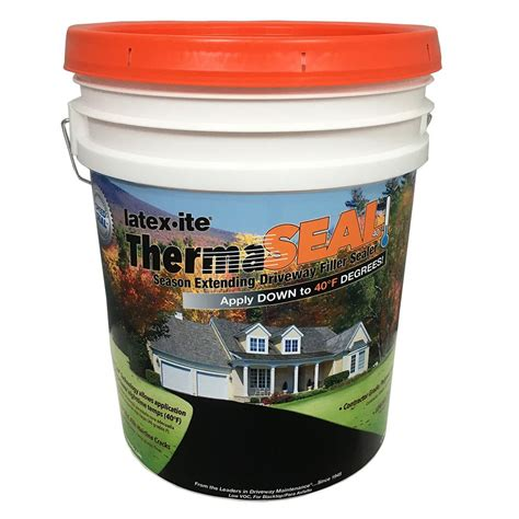 latex ite  gal therma seal driveway filler sealer