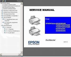 Epson Stylus Nx400 Manual
