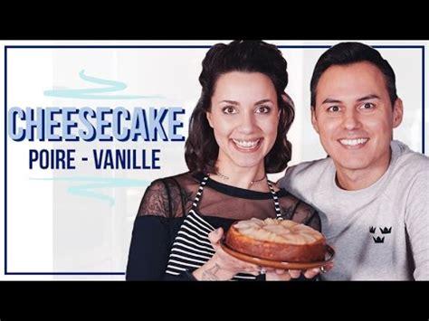 hervé cuisine cheesecake cheesecake vegan poire vanille avec hervé cuisine coline