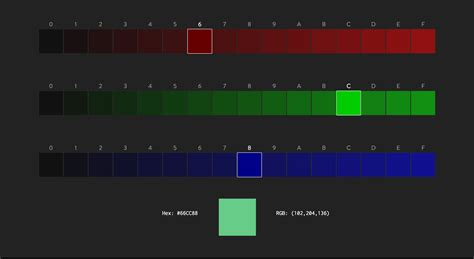 github saadq rgb selector a simple rgb color picker