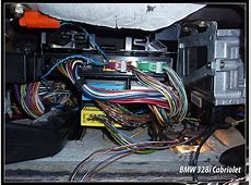 Where is the Body Control Module located on a 95 BMW 325is