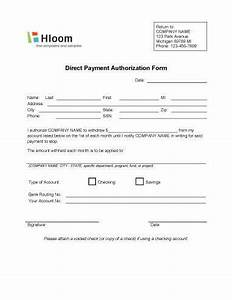 authorization to pay form geccetackletartsco With hloom