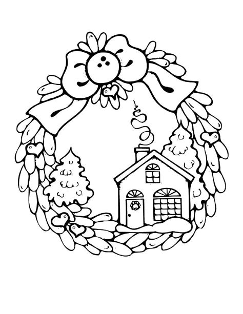 christmas coloring pages printable winter