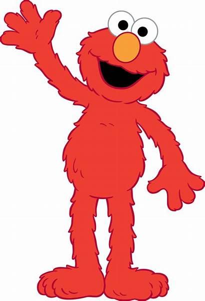 Elmo Clip Sesame Cartoon Count Birthday Clipart